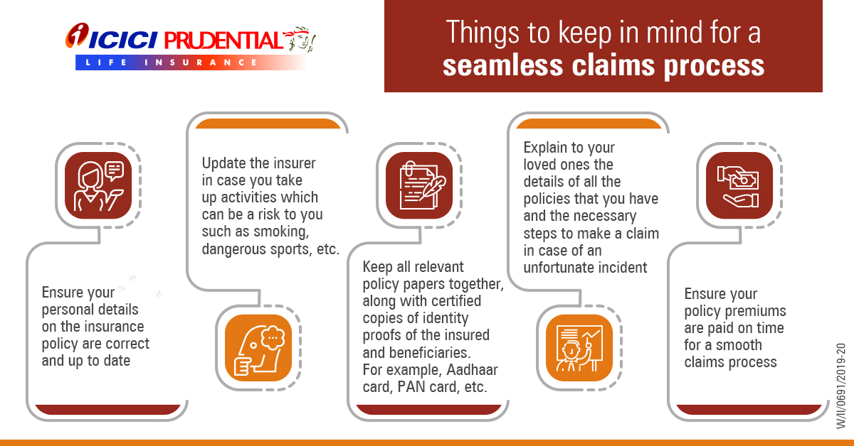 Things to Keep in Mind for a Seamless Claims Process